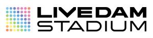 LIVE DAM STADIUMロゴ(横ver)